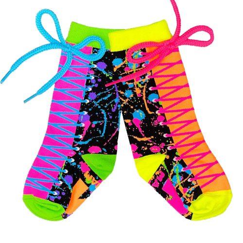 Colour Run kids socks