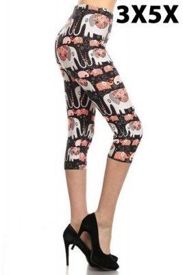 Stampin' Elles Capri leggings