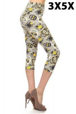 Mellow Yellow Capri leggings
