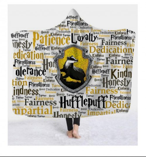 Hufflepuff Hooded Blanket