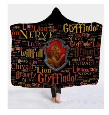 Gryffindor Hooded Blanket