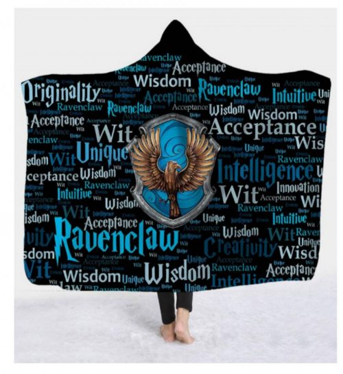 Ravenclaw Hooded Blanket