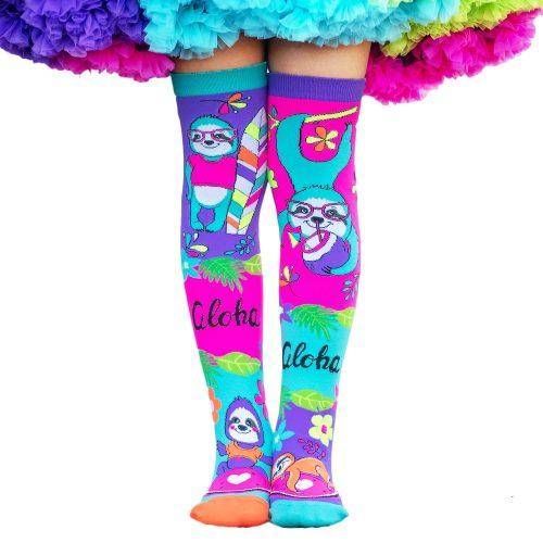 Aloha Vibes Sloth socks