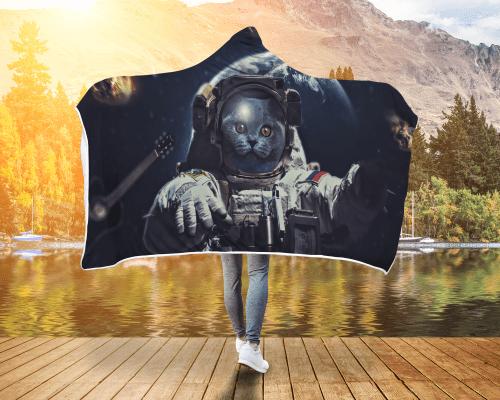 AstroKitty Hooded Blanket