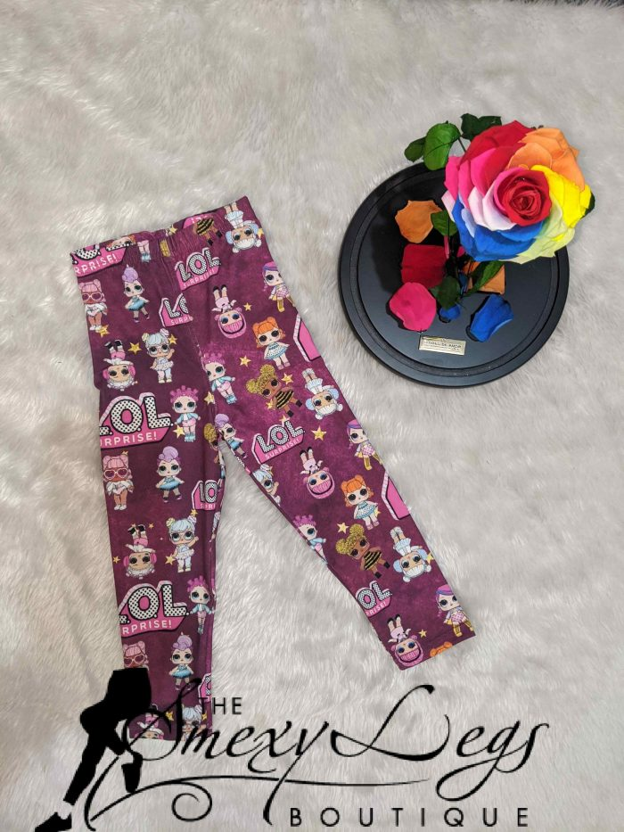 Little Ones Lol Dolls Printed Baby Leggings