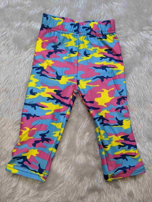 Hi Vis Camo Printed Baby & Toddler Leggings