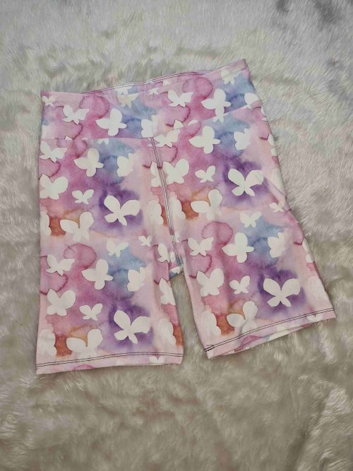 Butterfly Catastrophe Yoga Band Printed Bike Shorts