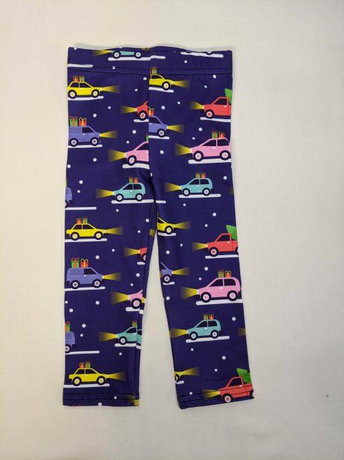 Christmas Cars Printed Baby & Toddler Leggings