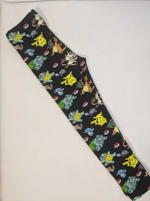 Free Pokemon Printed Kids Leggings