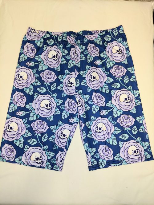 Purple Rose Of Death Regular Band Printed Bike Shorts