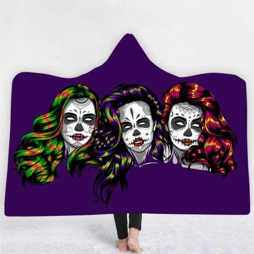 Ladies Of Death Hooded Blanket
