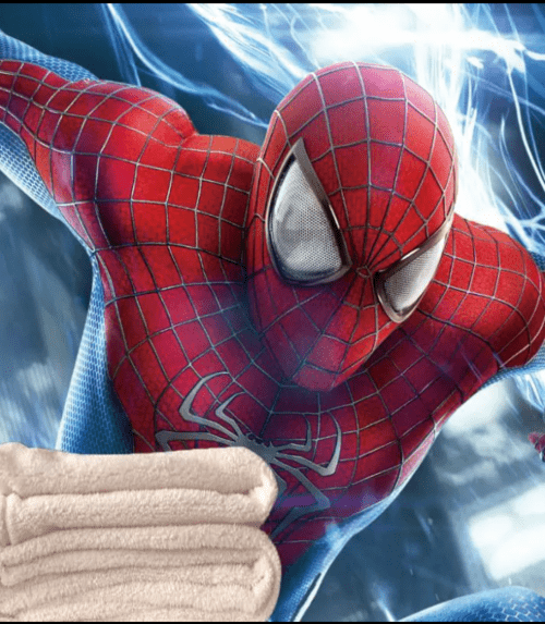 Peter Parker Square Blanket