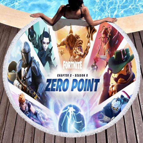 Chapter 2 Season 5 Round Beach Towel