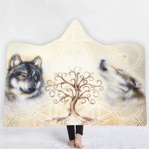 Alpha Guardian Hooded Blanket
