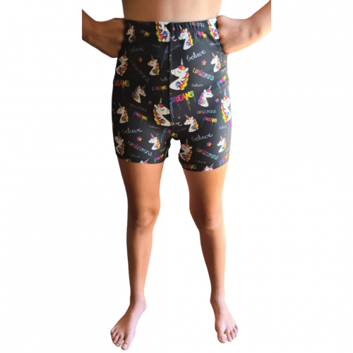 Drip Dreams Printed Kids Bike Shorts