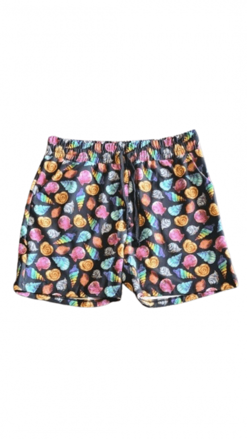 Colour Shells Printed Jogger Shorts
