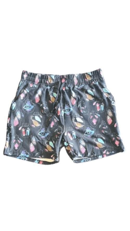 Crystal Jars Printed Jogger Shorts