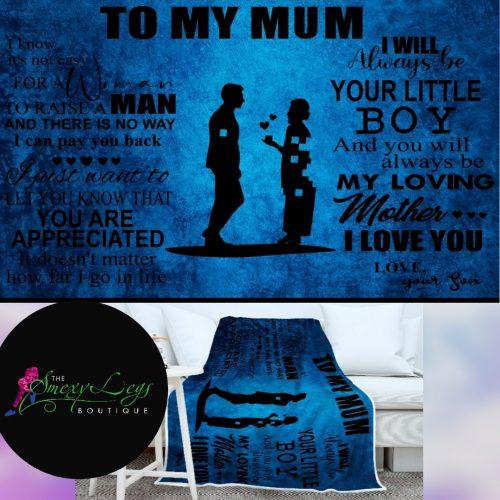 Son To Mum Big Blanket *Preorder