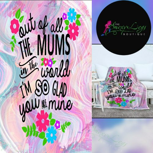 Mums in The World Big Blanket *Preorder